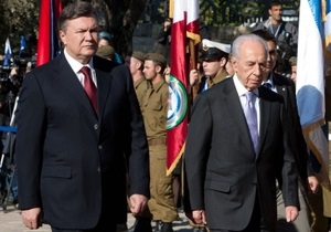 Перес: Янукович строит связи между Восточной и Западной Европой