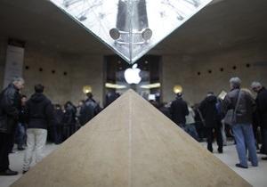 Акции Apple рухнули ниже психологической отметки