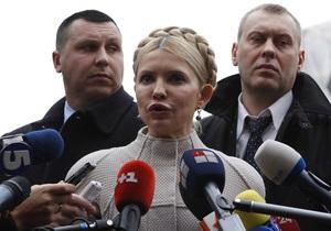 Тимошенко просит журналистов приехать к ней