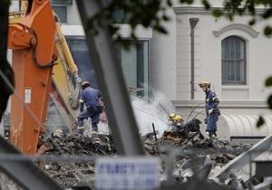 Жертвами землетрясения в Новой Зеландии стали 147 человек