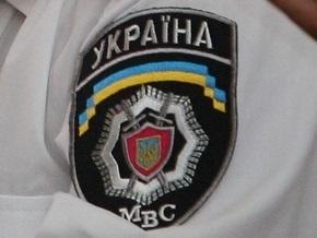 В Киеве пытаются задержать вооруженных налетчиков на BMW