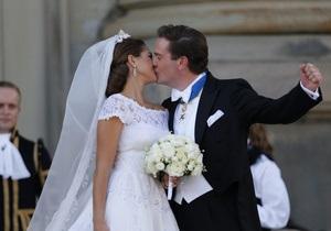 Шведская принцесса Мадлен вышла замуж
