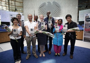 В Германии наградили блогеров