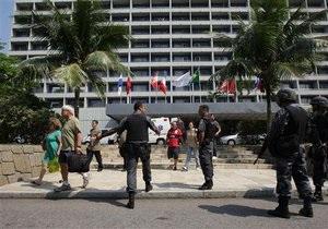 Неизвестные попытались захватить отель в Рио-де-Жанейро