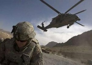 В Ираке потерпел крушение вертолет ВВС США: погибли два пилота