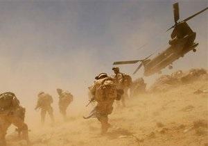 Талибы заявили об уничтожении вертолета коалиции ISAF в Афганистане