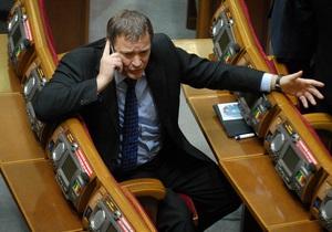 Фарион - Колесниченко - УПА - Волынская трагедия - Колесниченко не видит перспективы у депутатского обращения Фарион по поводу госизмены