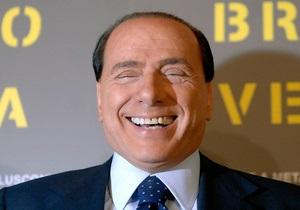 В Италии поступает в продажу диск с песнями на стихи Берлускони