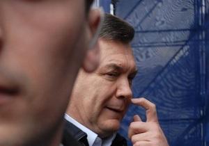 Янукович сменил руководство Госохраны
