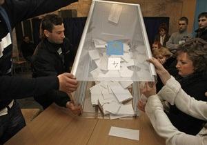 Выборы-2012: самая высокая конкуренция наблюдается в округах Киева и области