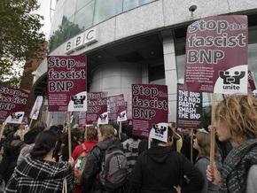 В телецентр Би-би-си в Лондоне ворвались антифашисты