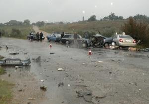 В ДТП под Коблево погибли четыре человека