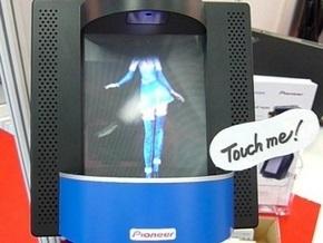 Pioneer представила сенсорный 3D-дисплей с танцующей девушкой