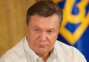 Янукович инициировал создание рабочей группы по разработке программы развития украинского языка
