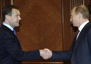 Медведев: Кандидатом в президенты РФ в 2012 году может стать кто-то третий