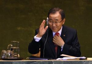 СБ ООН рекомендовал Пан Ги Муна на второй срок