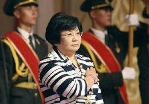 Отунбаева  назначила дату парламентских выборов в Кыргызстане на 10 октября