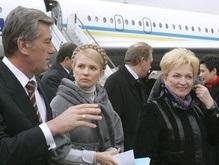 В полдень Ющенко соберет СНБО