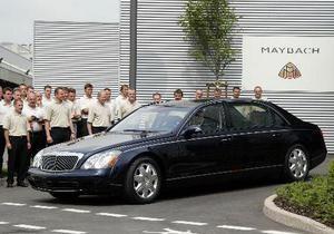 В 2013 году выпуск автомобилей Maybach будет прекращен. Марку заменит новая линейка Mercedes