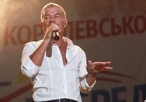 ПР: Королевская с помощью певца Газманова уничтожает газету Родное Приазовье