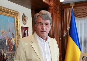 Ющенко обнародовал видеообращение по случаю годовщины Голодомора