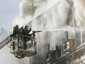 При пожаре в Москве погибли две женщины и ребенок