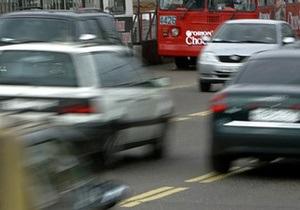 Сегодня на Крещатике перекроют движение транспорта