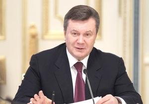 Губернаторы подарят Януковичу каравай и букет полевых цветов