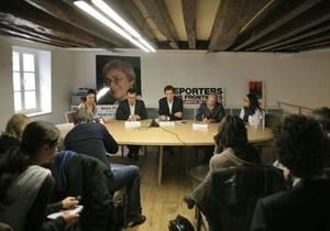 Во вторник Репортеры без границ встретятся с украинскими депутатами