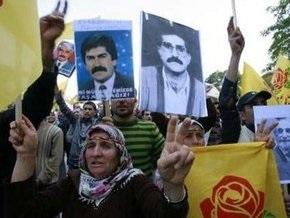 В Турции прошли массовые протесты курдов