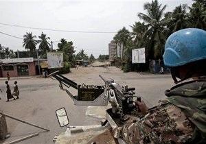 Источник: Украинские вертолетчики в Кот-д'Ивуаре впервые применили оружие