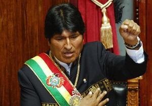 В Боливии расследуют историю с возможным отравлением Эво Моралеса