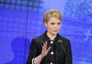 Тимошенко: Команда Януковича-Азарова готовит еще несколько проектов с Россией