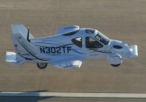 В США самолетомобиль получил разрешение на полеты