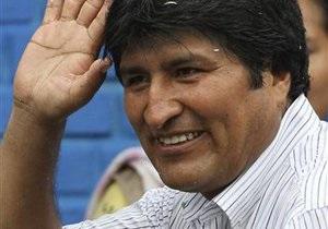 Президент Боливии взял больничный