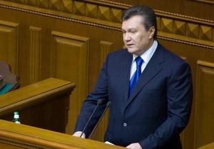 Янукович рассказал, когда будет приниматься бюджет на следующий год