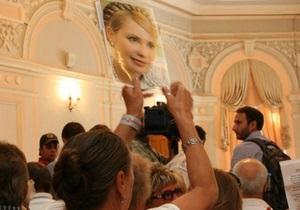 Суд по делу Тимошенко перенесен на 11 сентября