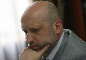 Турчинов возглавил правительственную комиссию по ликвидации паводка в 2010 году