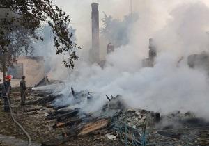 Пожар в Ровенской области: Возбуждено уголовное дело против руководителей дома престарелых
