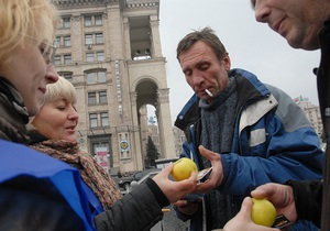 Фотогалерея: Минздрав предупреждает. Всемирный день отказа от курения в Киеве