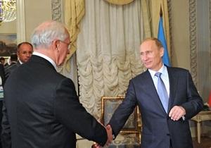 Азаров призвал скорее перейти на расчеты в рублях за российский газ