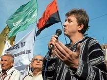 Депутат от НУ-НС отказался говорить по-русски на телемосте с Москвой
