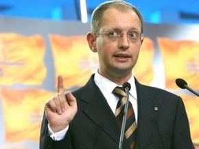 Яценюк: Создание мегакоалиции в нынешнем парламенте нереально