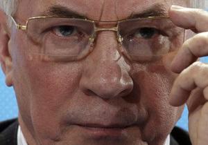 Азаров призвал министров  убрать в доме и во дворе