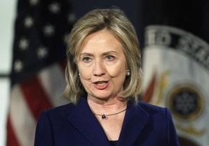 США не думают о санкциях в отношении Украины - помощник Клинтон