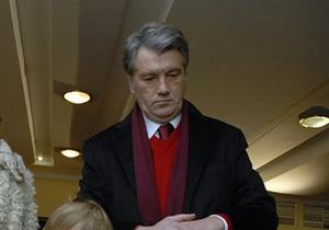 В Нашей Украине рассказали о причине низкого рейтинга Ющенко в первом туре выборов