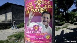 На выборах в Никарагуа, как ожидается, победит Ортега