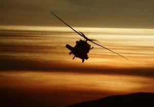 В США разбился вертолет медслужбы, все находившиеся на борту погибли