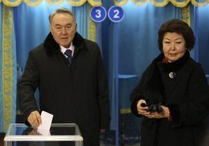 Выборы в Казахстане: Назарбаев набирает 95,5% голосов