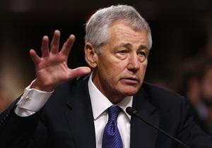 США - будущий глава Пентагона Чак Хейгел одобрен Сенатом